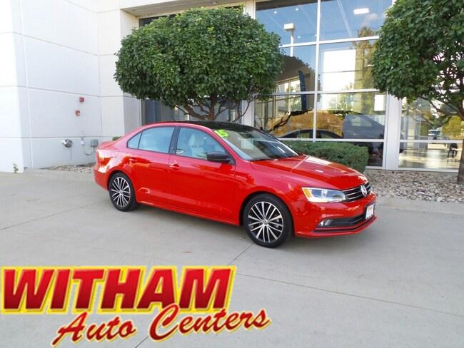 2015 Volkswagen Jetta 1.8T Sport Auto 1.8T Sport PZEV