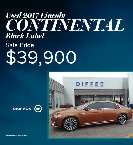 Used 2017 Lincoln Continental Black Label