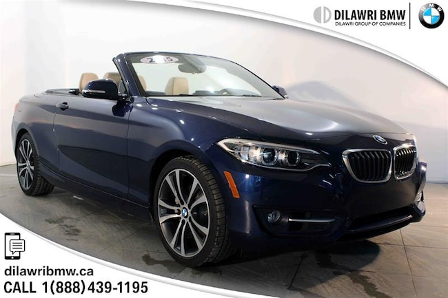2015 BMW 228i Xdrive Cabriolet 1 Owner, Accident Free and Great Cabriolet