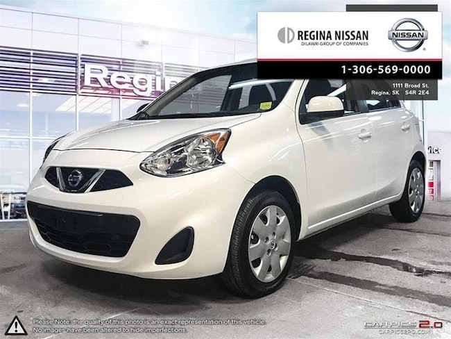2017 Nissan Micra 1.6 SV at Only 5600 KM!!  Rates From 2.39% Hatchback