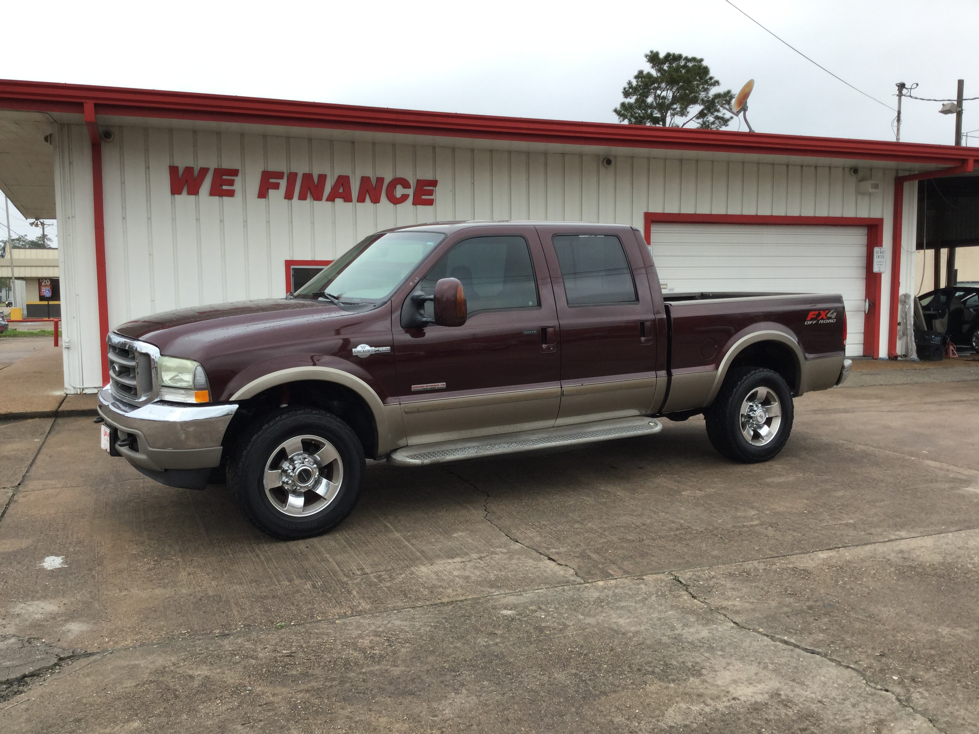 2004 Ford F-250 King Ranch Truck Crew Cab