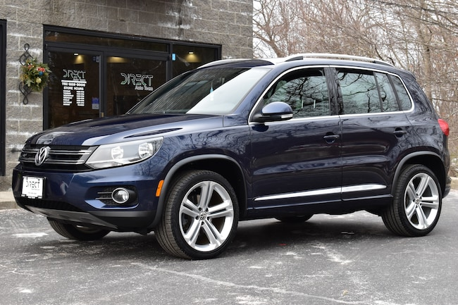 2016 Volkswagen Tiguan R-Line 4Motion AWD SUV