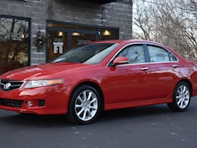 2008 Acura TSX 6-Speed Manual Transmission Sedan