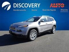 New 2018 Jeep Cherokee LATITUDE FWD Sport Utility for sale in Altavista, VA