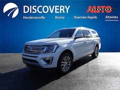 New 2018 Ford Expedition Max Limited SUV for sale in Altavista, VA