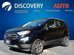 Used 2018 Ford EcoSport Titanium SUV MAJ6P1WL6JC204434 for sale in Altavista, VA