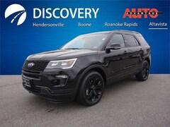 New 2019 Ford Explorer Sport SUV for sale in Altavista, VA