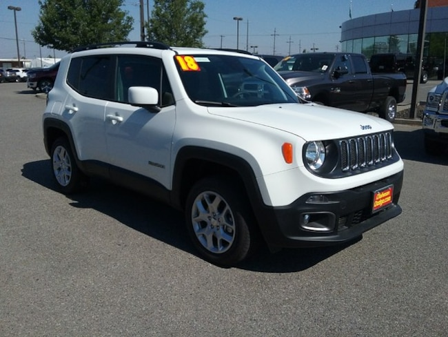 new 2018 jeep renegade latitude 4x4 for sale in spokane wa. Black Bedroom Furniture Sets. Home Design Ideas