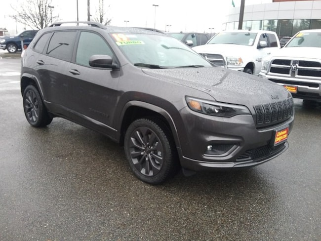 New 2019 Jeep Cherokee HIGH ALTITUDE 4X4 Sport Utility Spokane