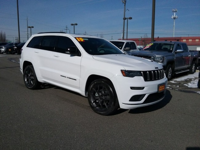 New 2019 Jeep Grand Cherokee LIMITED X 4X4 Sport Utility Spokane