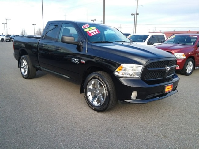 Used 2017 Ram 1500 Express Truck Quad Cab Spokane