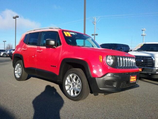New 2018 Jeep Renegade SPORT 4X4 Sport Utility Spokane
