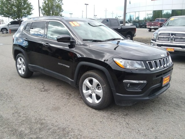 New 2018 Jeep Compass LATITUDE FWD Sport Utility Spokane