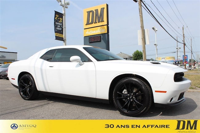 2017 Dodge Challenger BLACK TOP/ MAG 20''/ CAMERA RECUL Coupe