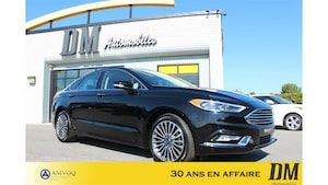 2017 Ford Fusion AWD/ TOIT/ NAVIGATION/ 2.0T/ CUIR