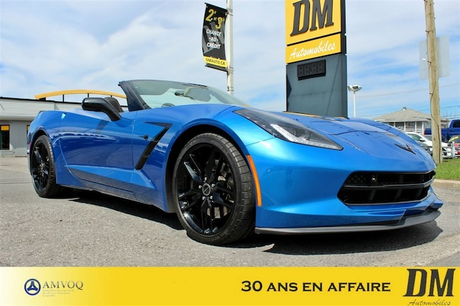 2016 Chevrolet Corvette 3 LT Stingray  SUSPENSION MAGNÉTIQUE/ Convertible