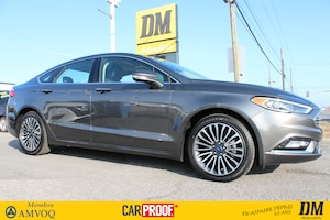2017 Ford Fusion SE AWD TOIT NAVIGATION 2.0 T CUIR