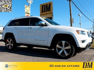 2015 Jeep Grand Cherokee Limited AWD CUIR CAMERA RECUL VUS