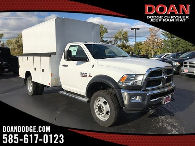 New 2018 Ram 5500 TRADESMAN CHASSIS REGULAR CAB 4X4 168.5 WB Regular Cab in Rochester, NY