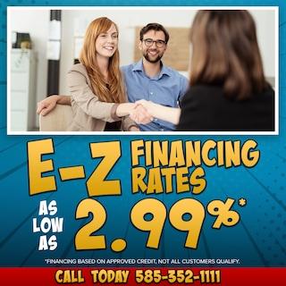 E-Z Financing Rates