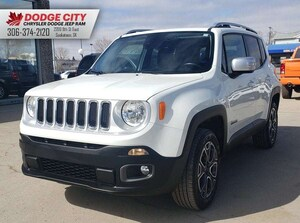 2016 Jeep Renegade Limited 4x4 | Bup Cam, Htd.Leather, Beats Audio