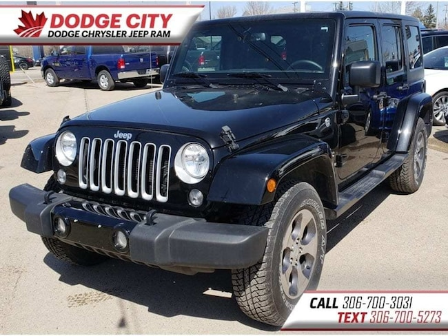 2017 Jeep WRANGLER UNLIMITED Sahara 4x4 | Htd.Seats, BTooth, Nav SUV