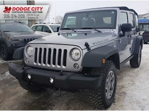 2018 Jeep Wrangler JK Unlimited Rubicon 4x4   Htd.Leather, BTooth, Nav