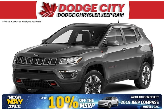 2019 Jeep Compass Trailhawk | 4x4 SUV