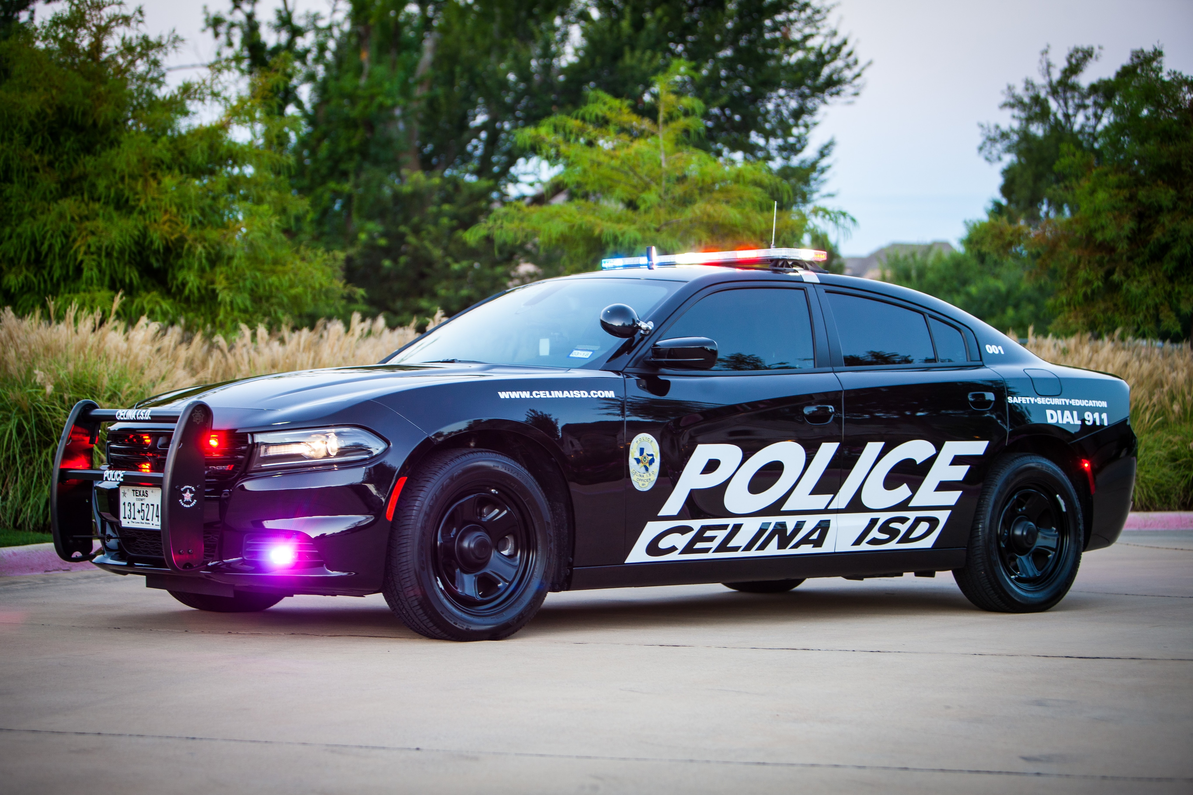 Celina, TX police car supplied by Dodge City of McKinney