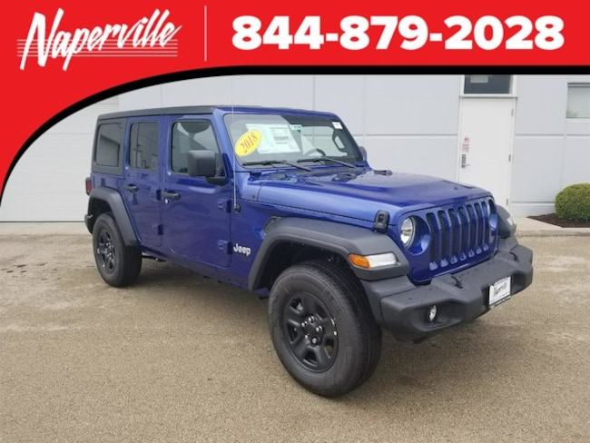 New 2018 Jeep Wrangler Unlimited Sport 4x4 For Sale Naperville Il
