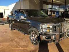 2015 Ford F-150 4WD Supercrew 145 Lariat Truck SuperCrew Cab