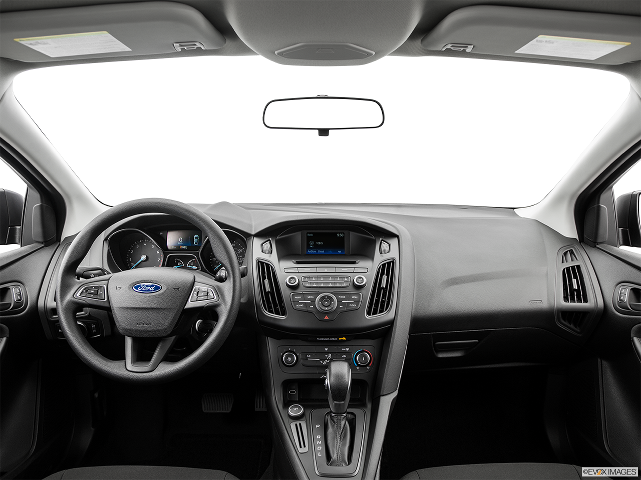 Interior View Of 2015 Ford Focus in Tulsa
