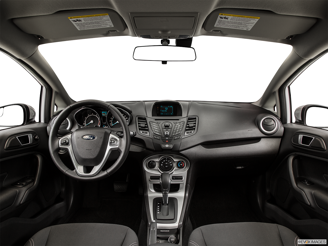 Interior View Of 2015 Ford Fiesta in Tulsa