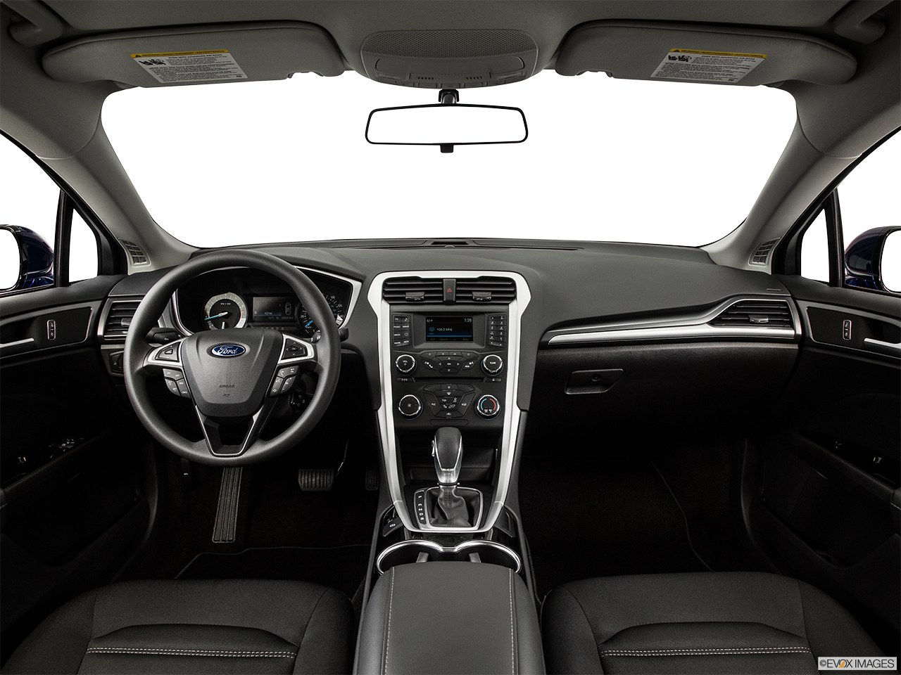 Interior View Of 2015 Ford Fusion in Tulsa