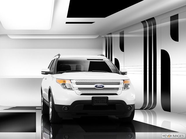 Exterior View Of 2015 Ford Explorer in Tulsa