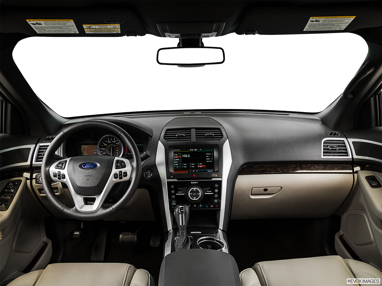 Interior View Of 2015 Ford Explorer in Tulsa