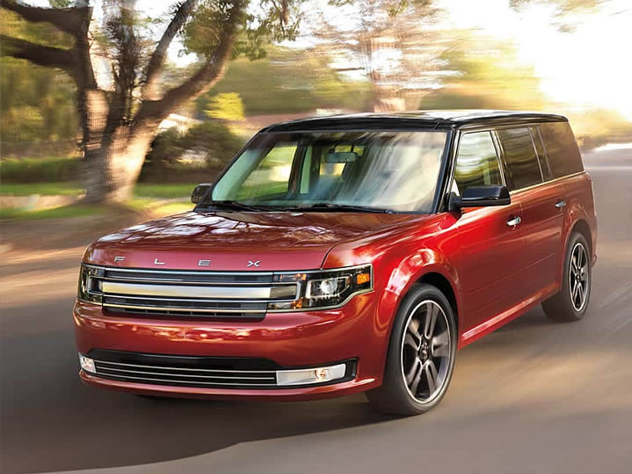 Exterior View Of 2015 Ford Flex in Tulsa