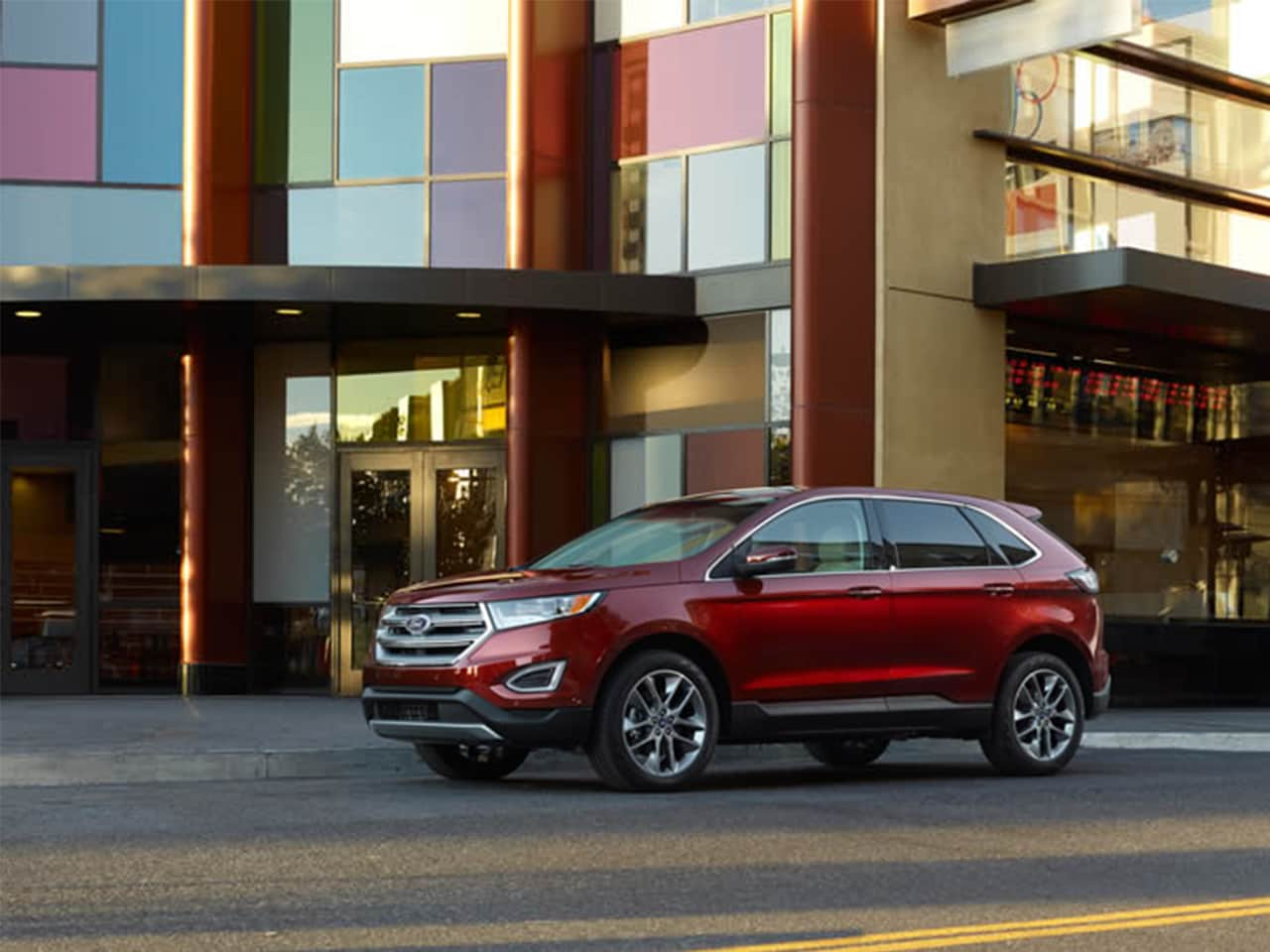 Exterior View Of 2015 Ford Edge in Tulsa