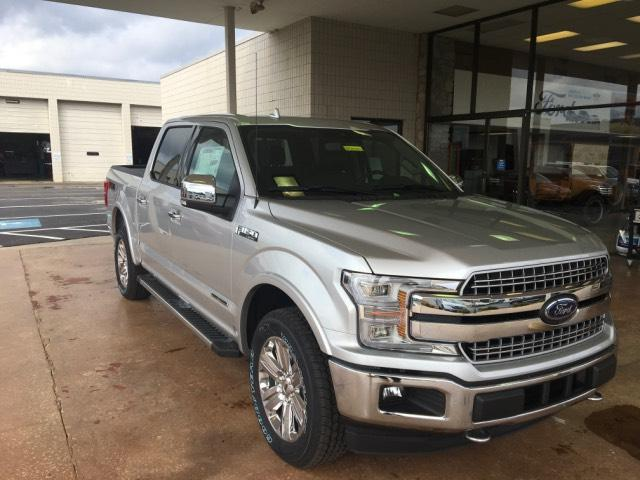 2018 Ford F-150 Lariat 4WD Supercrew 5.5 Box Crew Cab Pickup