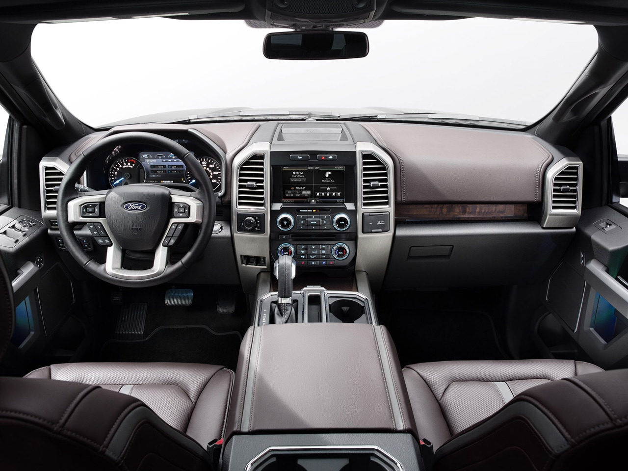 Interior View Of 2015 Ford F-150 in Tulsa