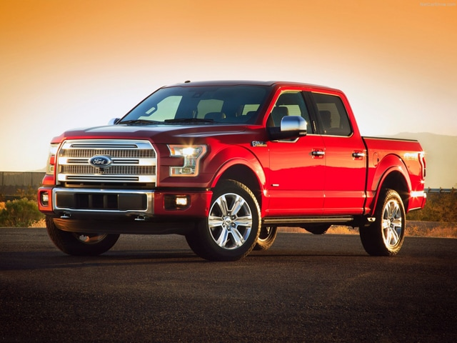 Exterior View Of 2015 Ford F-150 in Tulsa