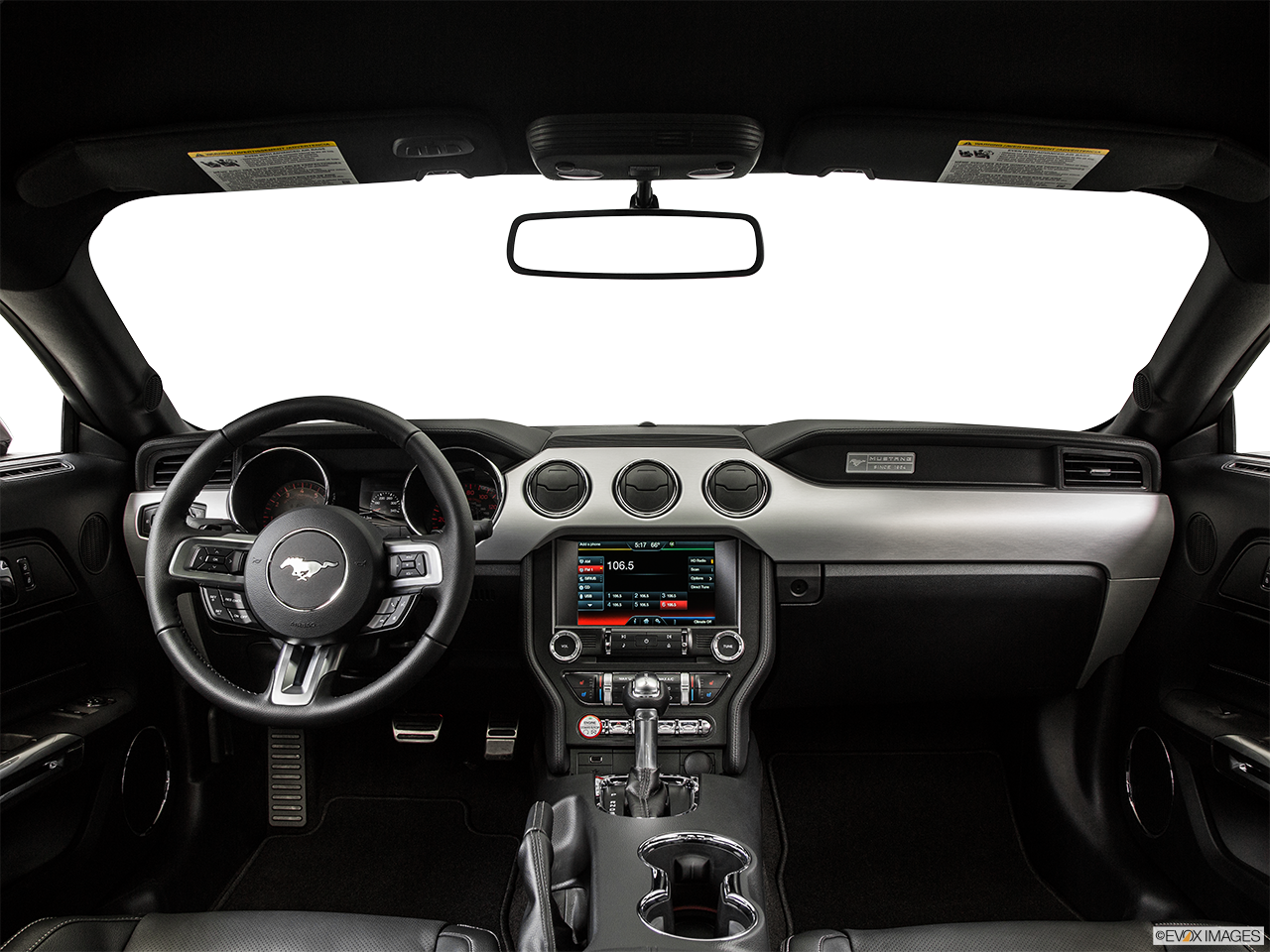 Interior View Of 2015 Ford Mustang in Tulsa