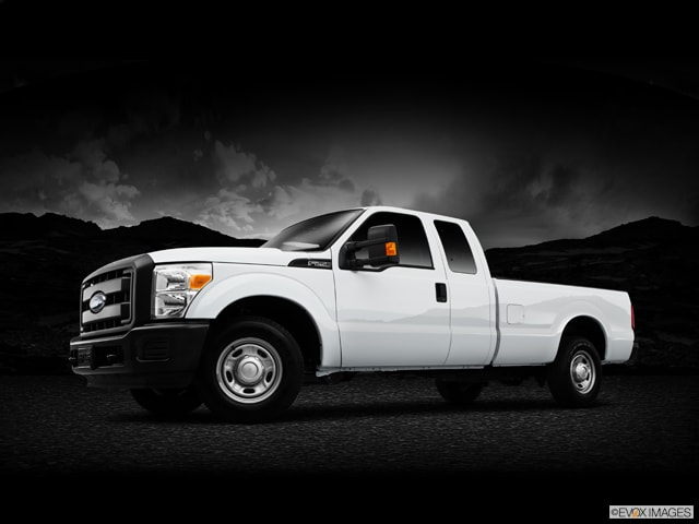 Exterior View Of 2015 Ford Super Duty in Tulsa
