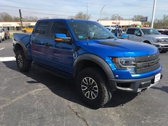 Used 2013 Ford F-150 4WD Supercrew 145 SVT Raptor Crew Cab Pickup