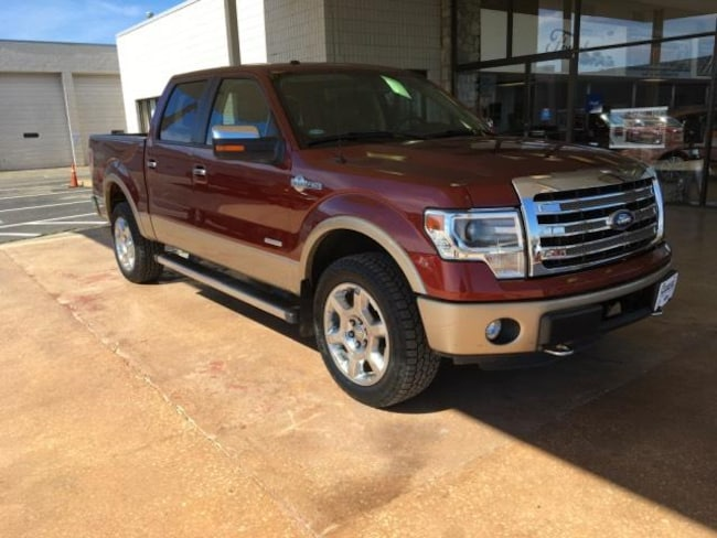 2014 Ford F-150 4WD Supercrew 145 King Ranch Crew Cab Pickup