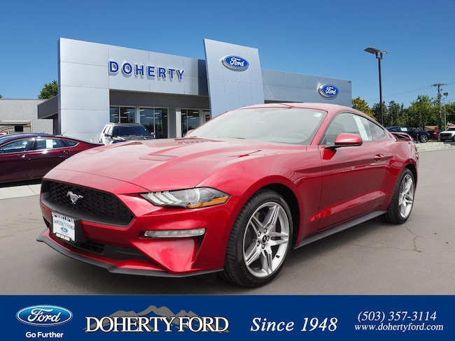 New 2018 Ford Mustang Ecoboost Coupe near Portland