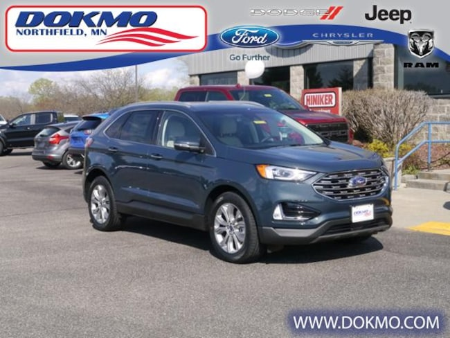 New 2019 Ford Edge Titanium AWD SUV For Sale/Lease Northfield, MN