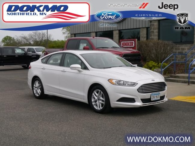 New 2013 Ford Fusion SE FWD Sedan 5531A For Sale Northfield, MN