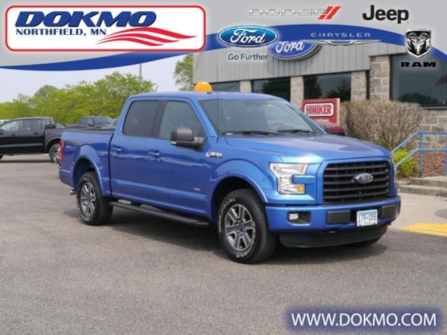 New 2016 Ford F-150 4WD Supercrew 145 XLT Truck 5590 For Sale Northfield, MN