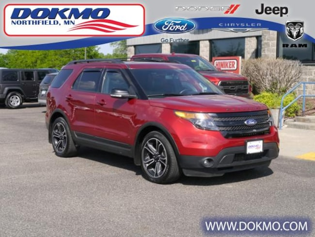 New 2015 Ford Explorer 4WD  Sport SUV 19236A For Sale Northfield, MN